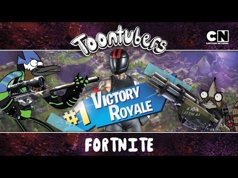 AHORA O NUNCA! Entramos a ganar en Fortnite   Toontubers   Cartoon Network