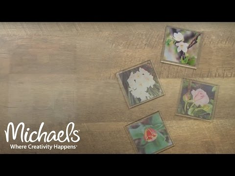Photo Transfer Coasters | Ideas for Papercrafting | Michaels