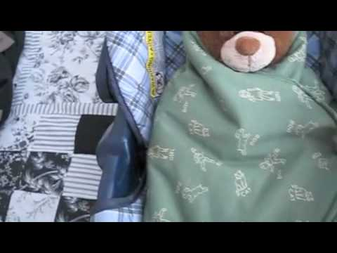 How To Make A Car Seat Swaddle Blanket: FREE PATTERN