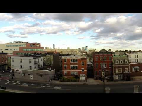 Time Lapse Of NYC From Jersey City Courthouse