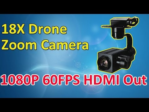 Sky Eye-18HZ 18X 1080P Optical Zoom Camera With Auto Object Tracking Module