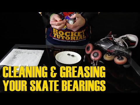 How To Clean And Grease Inline Or Roller Hockey Skate Bearings