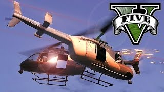 HELICOPTER JOUSTING | GTA 5 Funny Moments #4