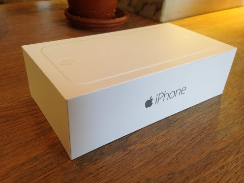 Apple iPhone 6 Gold  Unboxing & Hands-On
