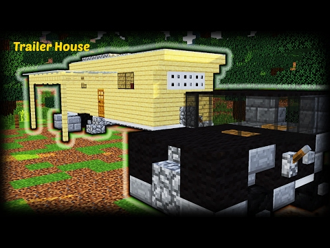 Minecraft - Epic Survival Starter House tutorial | Trailer House | Minecraft How To Build