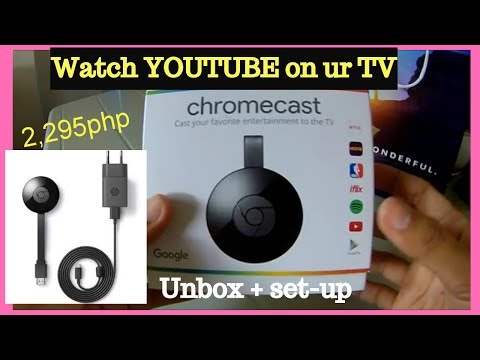 Chromecast Unboxing and Set-up, DEMO, Turn your ordinary TV into a SMART TV l-|Helmz Jordan