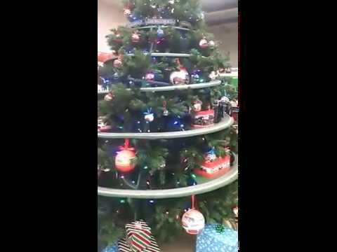 Train in the Christmas Tree.