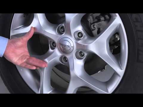 Jacking and Tire Changing - How to change a tire on 2017 Chrysler Pacifica