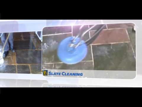 Slate Tiles Stripping & Sealing