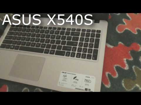 How to enter BIOS of ASUS X540S laptop