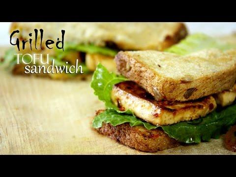 Veg Tofu Sandwich Recipe | Veg Sandwich Recipe - Tofu Recipes - Indian Breakfast Recipes By Shilpi