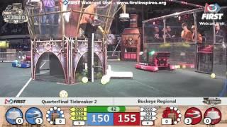 Quarterfinal Tiebreaker 2 - 2017 Buckeye Regional