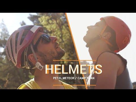 Helmet Review: Petzl Meteor Vs Camp Titan | Climbing Adventures In Sicily