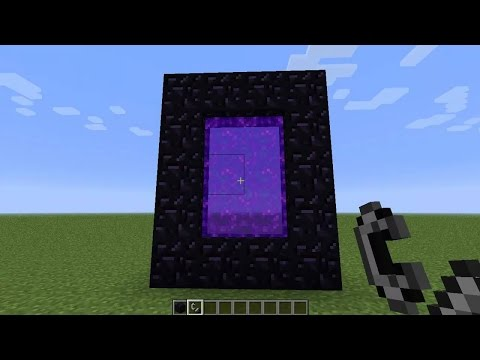How To Link Nether Portals - Minecraft Xbox 360/PS3/PC - (Tutorial)