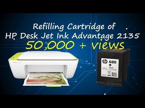 HP Cartridge Refill | HP 2135 Refill | HP 680 Cartridge Refill | HP Printer ink Refill