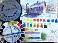 Daler Rowney Aquafine Watercolors - Review and Demo