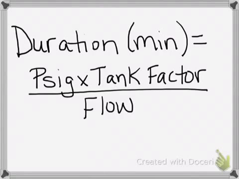 Cylinder duration