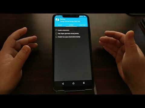 Redmi Note 6 Pro | Creating a TWRP Backup
