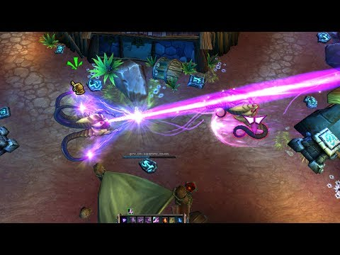 LoL Vel'Koz The Eye of the Void Gameplay Spotlight - (League of Legends Champion Preview)