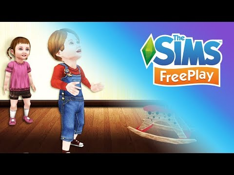 Sims Freeplay: Age Up Baby to Toddler - Ben's Birthday!