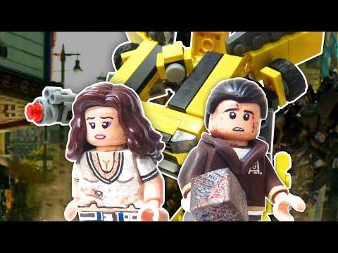 Lego Transformers Custom Minifigures & Bumblebee