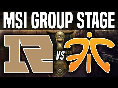 RNG vs FNC - MSI 2018 Group Stage Day 3 - Royal Never Give Up vs Fnatic | League of Legends MSI 2018