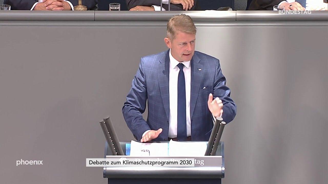 Karsten Hilse zur Klimaschutzdebatte im Bundestag (26.09.19)