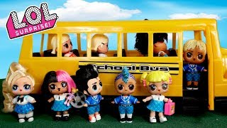 Download Barbie LOL Family First Day of School Morning Routine Video