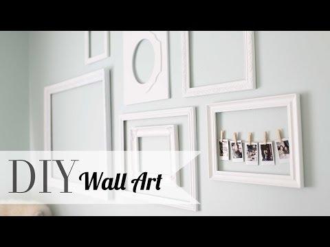 DIY Chic Wall Art & Polaroid Display   Home Decor    ANN LE