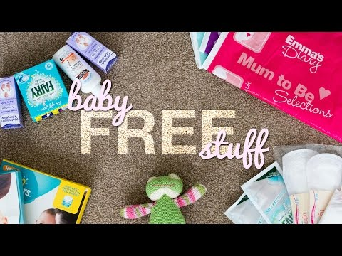 How To Get FREE Baby Stuff & Samples UK With Emma's Diary | Mum to Be | Bump to Baby | New Family