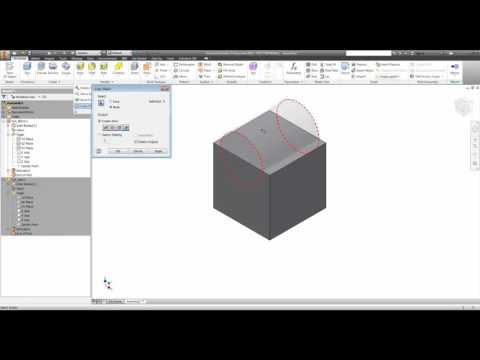 Inventor - Subtract Model Volume from another Model