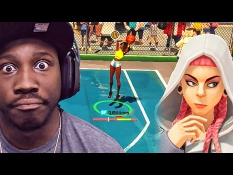 3on3 Freestyle PS4 Gameplay - GIRLS JUMP SHOTS WET ON THE BETA! Ep. 1