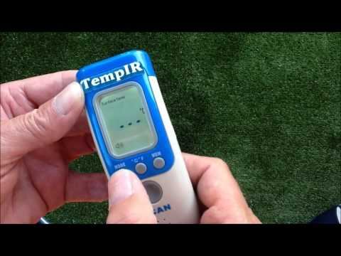 TempIR Baby Thermometer non contact review and demo