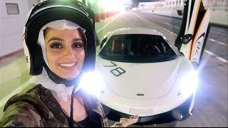 GIRL RACING in SUPERCAR !!!