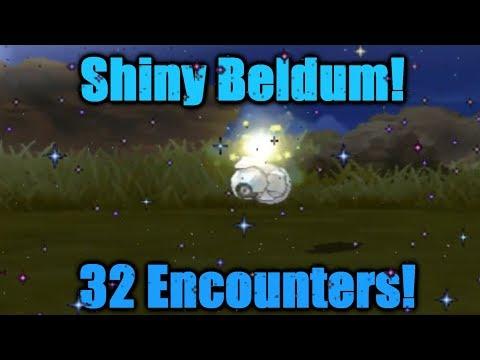 SHINY Beldum 32 Encounters! Pokemon Ultra Sun & Ultra Moon