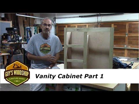 Vanity Cabinet Pt 1 - Face Frame and Cabinet Sides