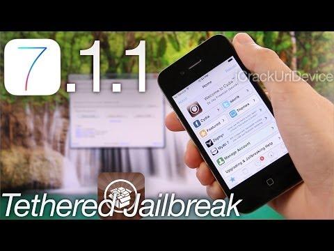 NEW Jailbreak 7.1.1 iOS Semi Tethered iPhone 4,GeekSn0w Windows & Cydia