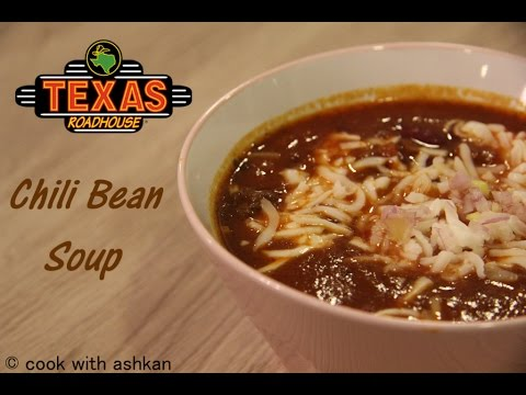 Chili bean soup | Roadhouse Texas | Cook With Ashkan