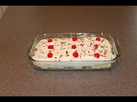 No Bake, Banana Split Cake