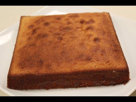 Vanilla Cake Sponge | Cakes & Desserts | Sanjeev Kapoor Khazana