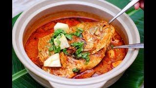 fish head curry recipe | Fish Curry with Tamarind gravy | Meen puli kuzhambu in Tamil