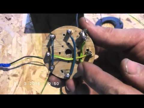 Homemade DC motor reverse polarity switch