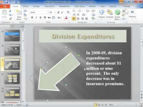 PowerPoint 2010 Make a Dashed Line or Border
