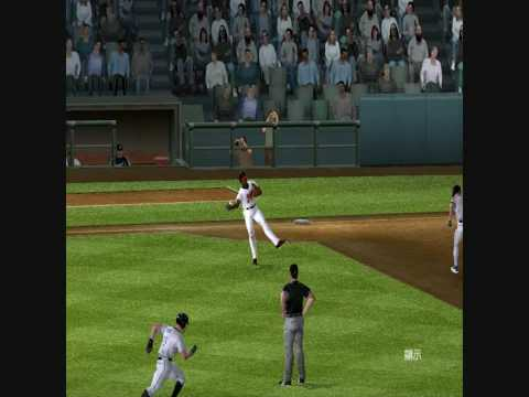 MVP Baseball 2005 A Runner Scored On An Error 3