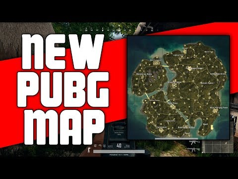 New PUBG Map Guide to SAVAGE island | PlayerUnknown's Battlegrounds Map Review