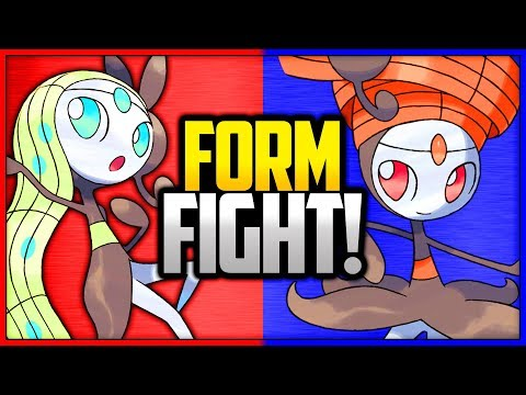 Meloetta: Aria vs Pirouette | Pokémon Form Fight