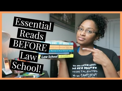 My Essential Reads BEFORE Law School!