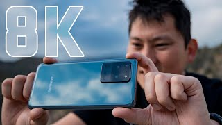 Filming 8k with Samsung S20 Ultra | EPIC or JUST HYPE?