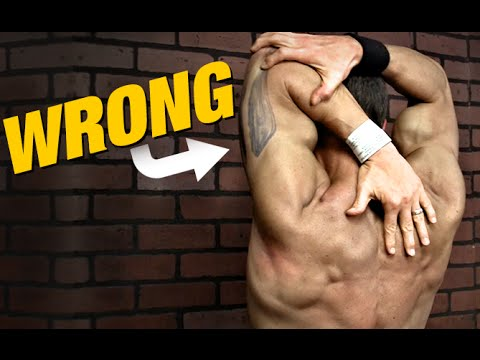 How to Stretch Your Triceps (AND HOW NOT TO!)