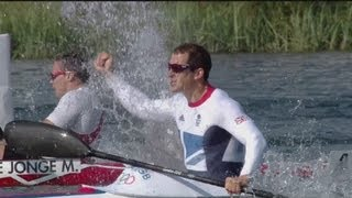 Full Replay - Ed McKeever Wins Canoe Sprint Kayak 200m Gold - London 2012 Olympics